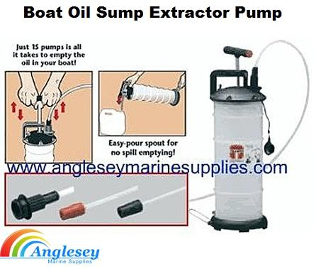 boat oil sump extractor pump