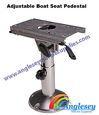 boat seat pedestal adjustable