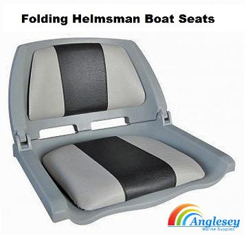 boat seats helmsman folding