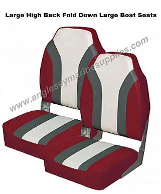 boat seats large fold down