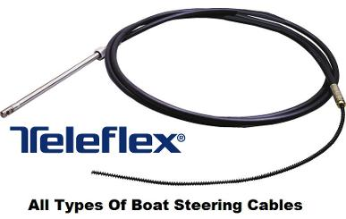 boat steering cables