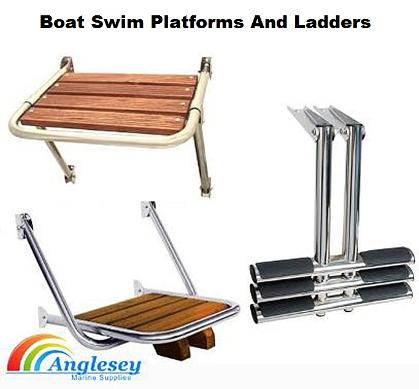 boat swim platforms and boat ladders