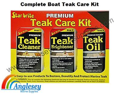 Boat Teak Care Kit