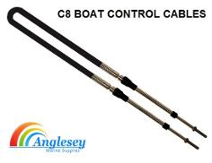 canal narrowboat engine control cable boat c8 ultraflex mach zero