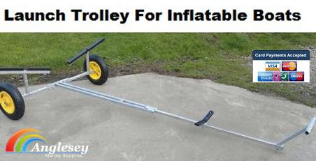 Dinghy Launching Trolley For Inflatable Boat