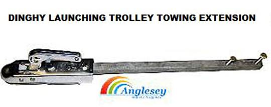 Dinghy Launching Trolley Towing Extension Bar