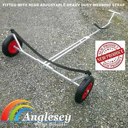 Dinghy Launching Trolley With Strap