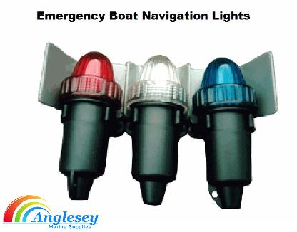 emergency boat navigation lights lighting