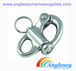 Fixed Eye Stainless Steel Snap Shackle