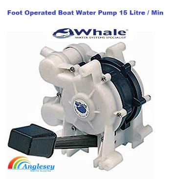 Foot Operated Boat Water Pump Whale Gusher