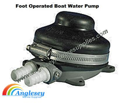 Foot Operated Boat Water Pump