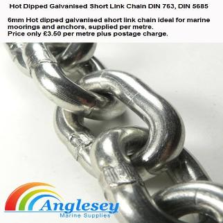 Galvanized Boat Anchor Chain