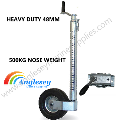 Heavy Duty Boat Trailer Jockey Wheel
