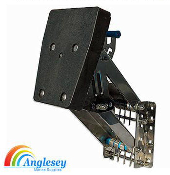 heavy duty outboard engine bracket