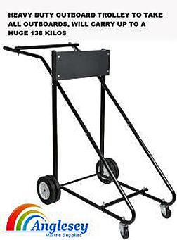 Heavy Duty Outboard Engine Trolley