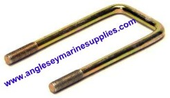 boat trailer u bolts square clamps