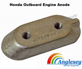 honda outboard engine anode