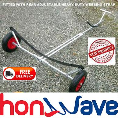 honwave launching trolley inflatable boat