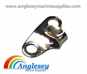 horizontal stainless steel lacing hooks