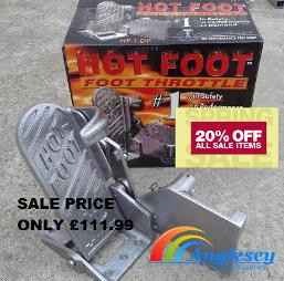 hot foot boat throttle control box