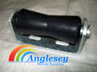125mm Keel Roller C/W Bracket And Spindle