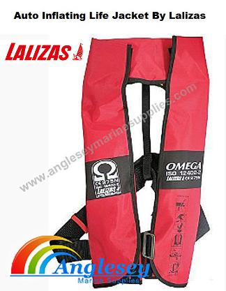 lalizas self inflating life jacket