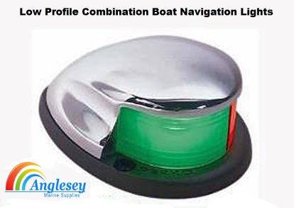 low profile boat navigation lights