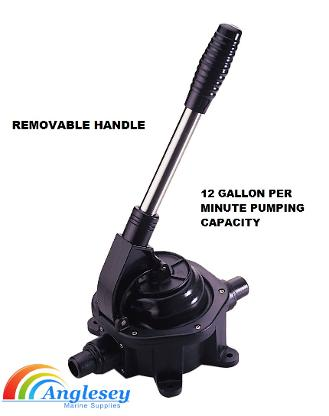 manual hand bilge pump