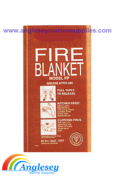 BOAT CARAVAN WORKSHOP MARINE FIRE BLANKET