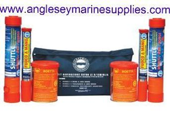 coastal flare distress kit marine boat