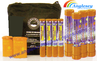 offshore flare pack kit solas distress marine safety