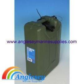 Plastic jerry can with spout-plastic fuel carrier