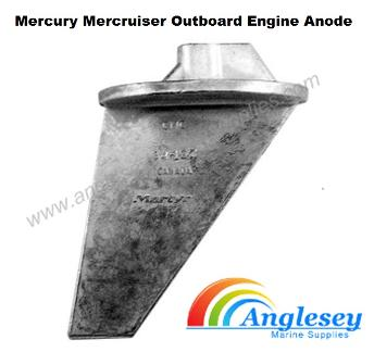 mercury mercruiser outboard engine anode