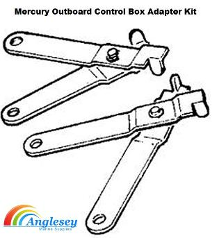 mercury outboard engine control box adapter