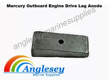 mercury outboard engine drive leg anode