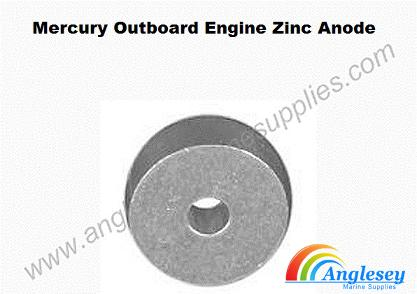 mercury outboard engine zinc anode