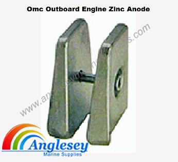 omc outboard engine anode