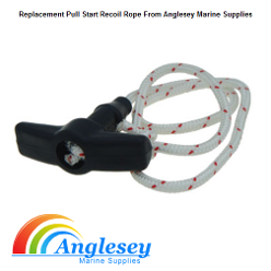 Outboard Engine Pull Start Rope
