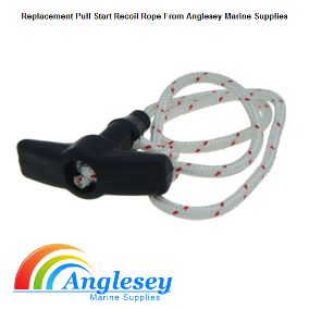 Outboard Engine Pull Cord Rope