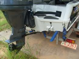 Foldable Outboard Engine Trolley