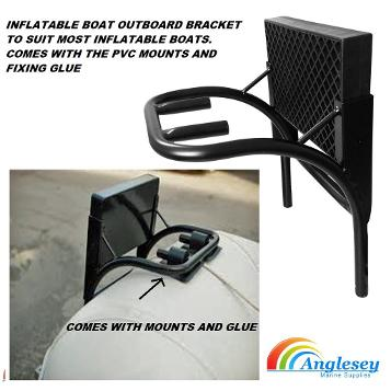 outboard bracket inflatable boat