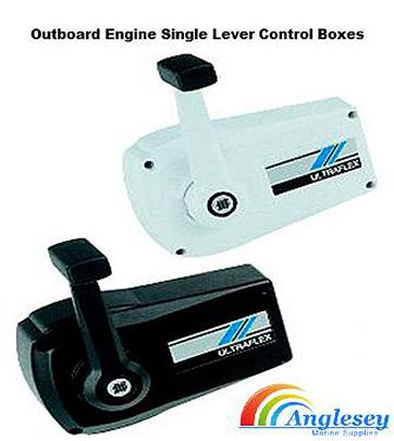outboard engine control box