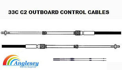 outboard engine control cable 33c c2
