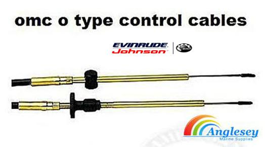 outboard engine control cable johnson evinrude omc