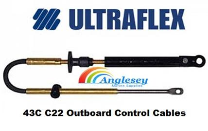outboard engine control cables 43c c22