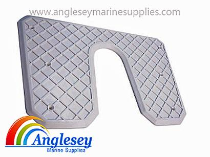 Outboard Engine Protective Transom Pad