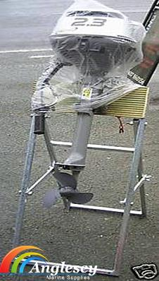 outboard engine stand galvanized