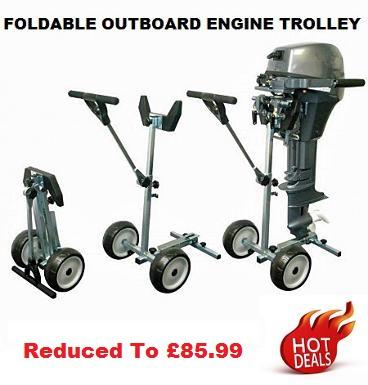 outboard engine trolley folding