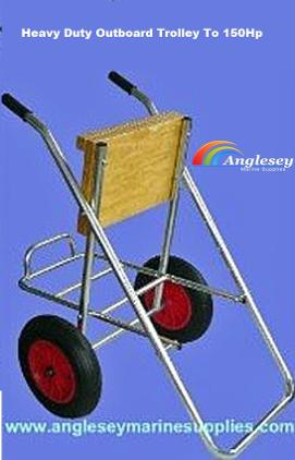 outboard engine trolley heavy duty