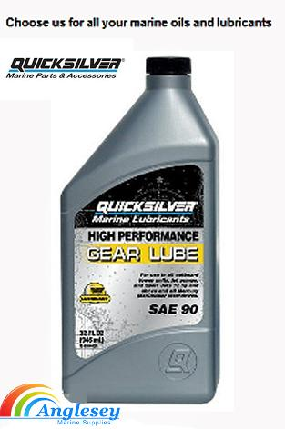 quicksilver outboard engine gear oil